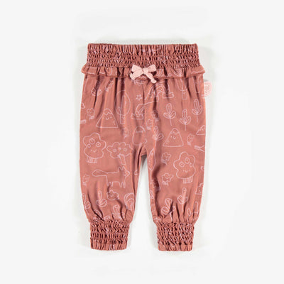 Pantalon brun à motifs  || Brown Pattern Pants