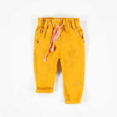 Pantalon de denim jaune  || Yellow Denim Pants