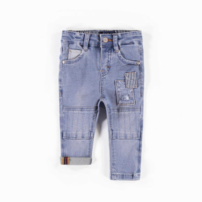 Pantalon en denim doux extensible || Soft Denim Pants