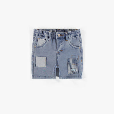 Short en denim doux extensible || Soft and stretch Denim Shorts
