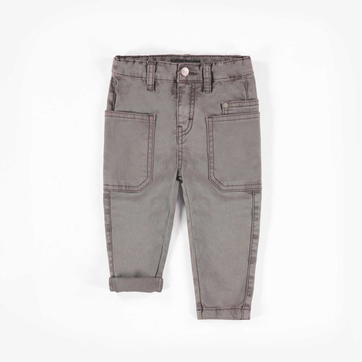 Pantalon coupe ajustée, bébé garçon || Slim fit stretch pants, baby boy