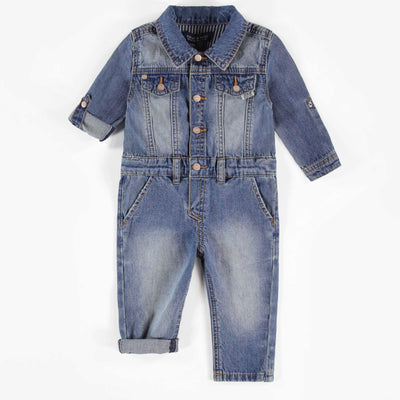 Une-pièce en denim léger || Light Denim One-piece