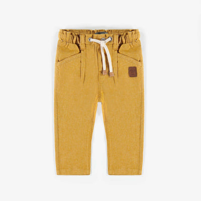 Pantalon jaune ajustable, bébé garçon || Yellow Adjustable pants, baby boy