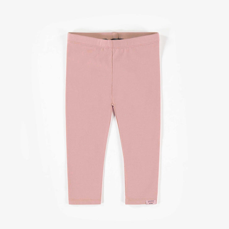 Legging rose, bébé fille   || Pink Leggings, Baby Girl