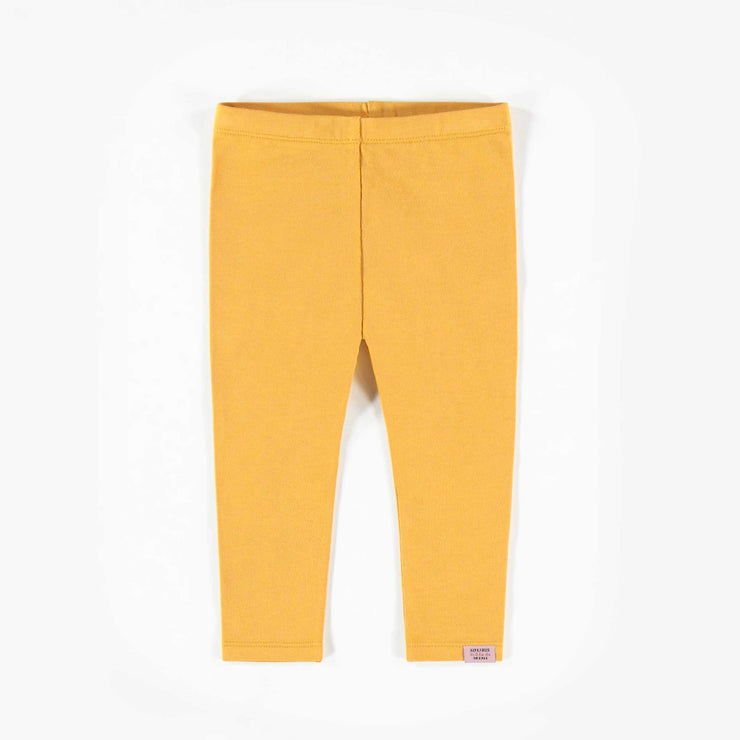 Legging jaune, bébé fille   || Yellow Leggings, Baby Girl