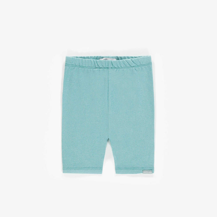 Legging court bleu, bébé fille || Short blue Leggings, baby girl