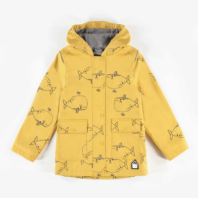 Imperméable jaune en PVC || Yellow Raincoat
