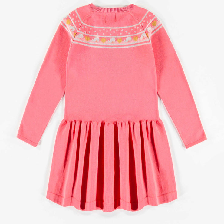 Robe en maille rose  || Pink Knit Dress