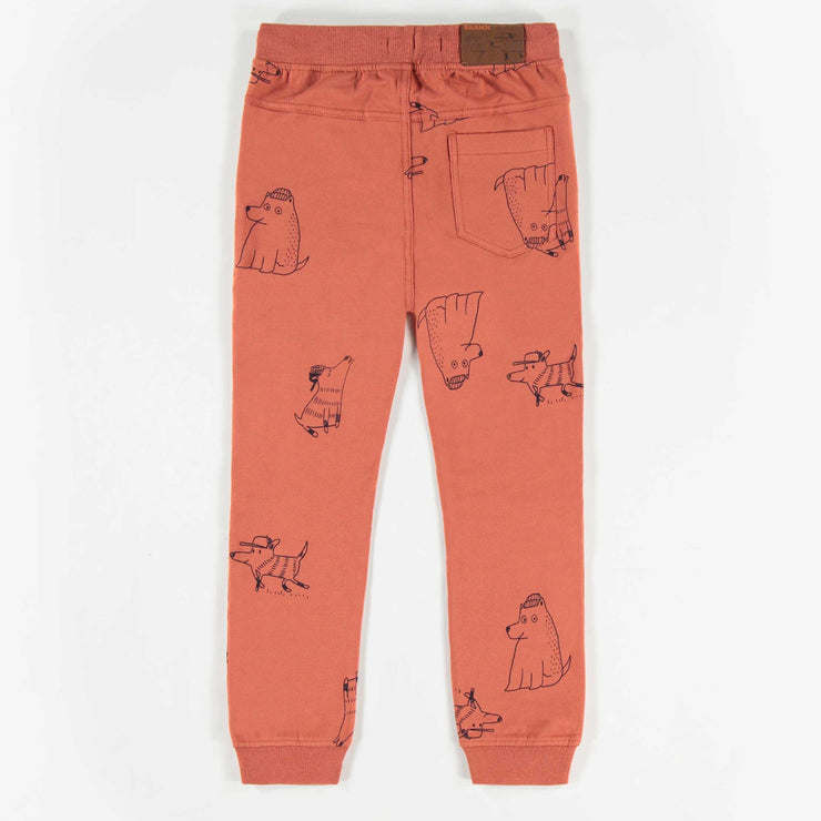 Pantalon brun à motifs, garçon || Brown Patterned Pants, Boy