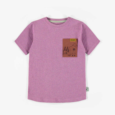 T-shirt  à manches courtes, enfant garçon || Short-sleeve T-shirt, child boy