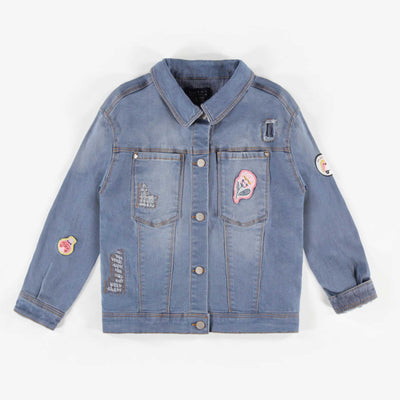 Veste de denim, enfant fille  || Denim Vest, Girl