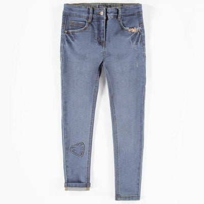 Pantalon de denim, enfant fille  || Denim Pants, Girl