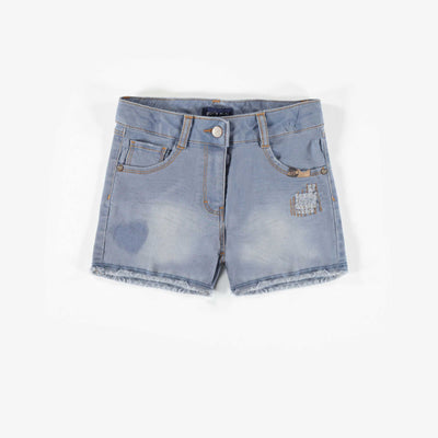 Short de denim, enfant fille || Short denim, child girl