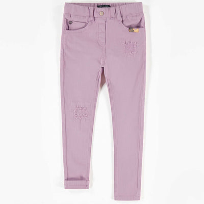 Pantalon de denim mauve, coupe très ajustée || Super skinny fit Denim Pants in Mauve