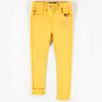 Pantalon de denim jaune, coupe très ajustée || Super skinny fit Denim Pants in Yellow