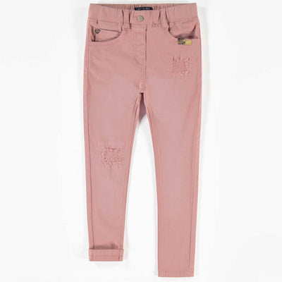 Pantalon de denim rose, coupe très ajustée || Super skinny fit Denim Pants in Pink