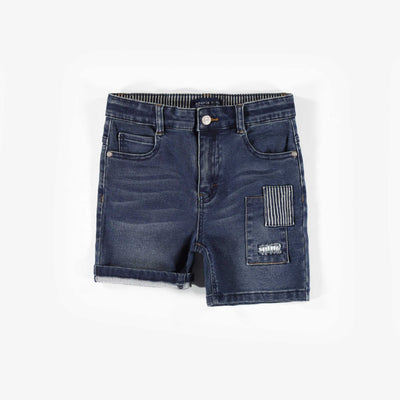 Short de denim doux extensible || Soft Denim Shorts