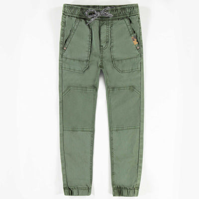 Pantalon en denim kaki, garçon || Khaki Denim Pants, Boy