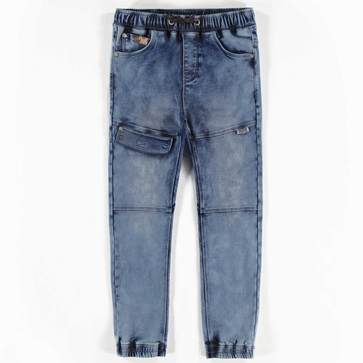 Pantalon de denim bleu, garçon || Blue Jog Denim Pants, Boy
