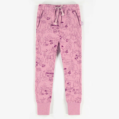 Pantalon de coton français, enfant fille  || French Terry Pants, Girl