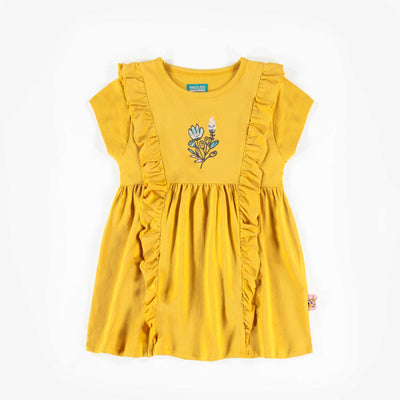 Tunique jaune, enfant fille  || Yellow Tunic, Girl
