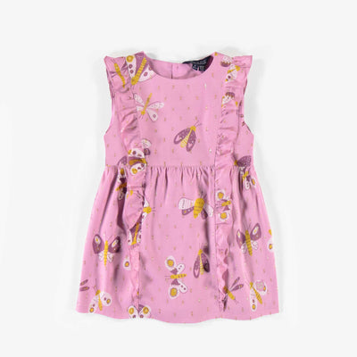 Camisole à motifs en viscose, enfant fille || Viscose patterned camisole, child girl