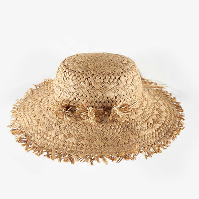 Chapeau de paille, enfant fille || Straw Hat, child girl