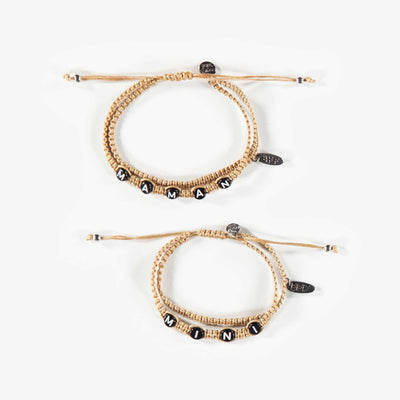 Ensemble de deux bracelets, enfant fille || Set of Two Bracelets, child girl