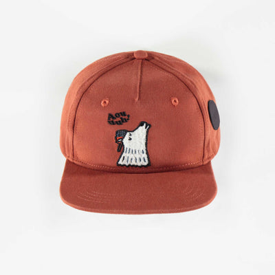 Casquette brune à motifs, enfant garçon  || Brown patterned Cap, child boy