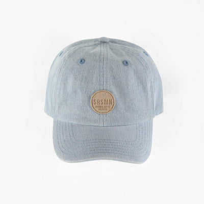 Casquette bleue en denim, enfant garçon || Blue denim cap, child boy
