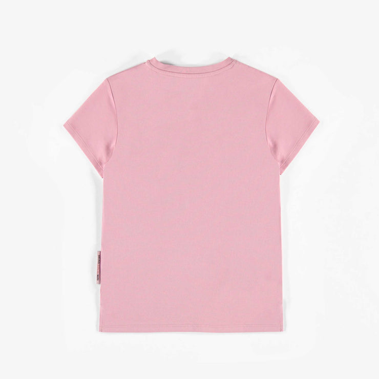 T-shirt rose pâle à manches courtes || Pale pink short-sleeve T-shirt