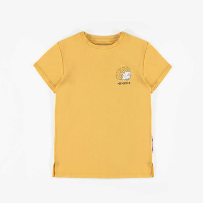 T-shirt jaune pâle à manches courtes || Pale yellow short-sleeve T-shirt