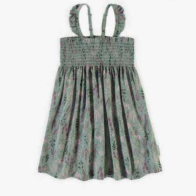 Robe nid d'abeille vert pâle || Pale green honeycomb Dress
