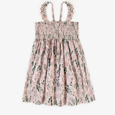 Robe nid d'abeille mauve pâle || Pale mauve grey honeycomb Dress