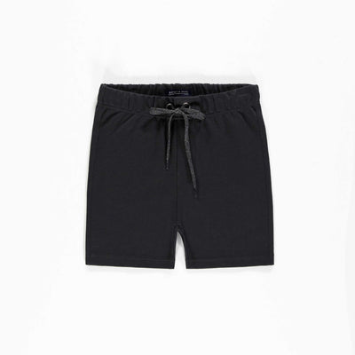 Short de coton français noir || Black French Terry Shorts