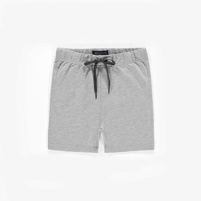 Short de coton français gris || Grey French Terry Shorts