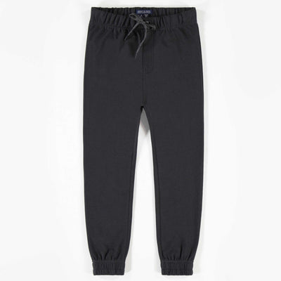 Pantalon noir de coton français || Black French Terry Pants
