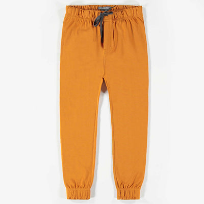Pantalon brun de coton français || Brown French Terry Pants