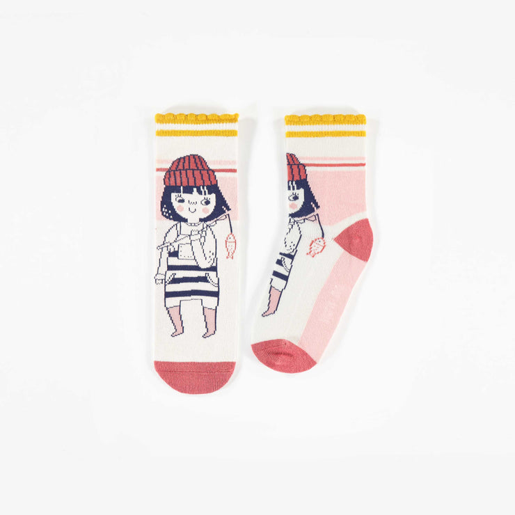 Chaussettes Fille matelot || Sailor girl Socks