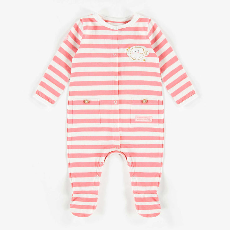 Pyjama rayé rose et blanc   || Striped Pyjamas