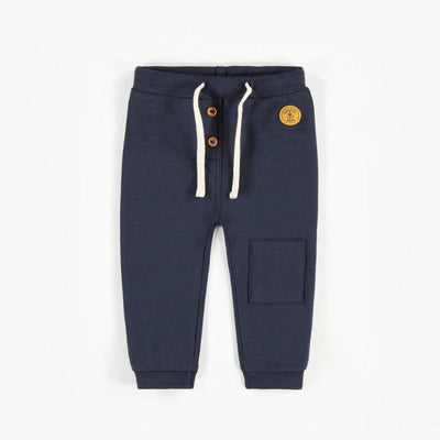 Pantalon marine en coton français    || Navy French Terry Pants