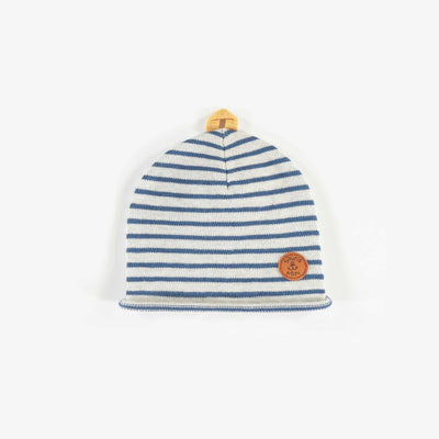 Bonnet rayé en maille  || Striped Knit Beanie