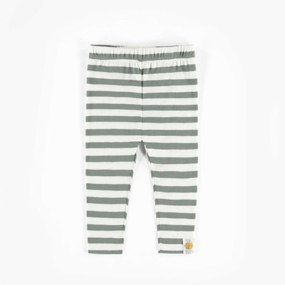 Legging rayé biologique  || Organic Striped Leggings