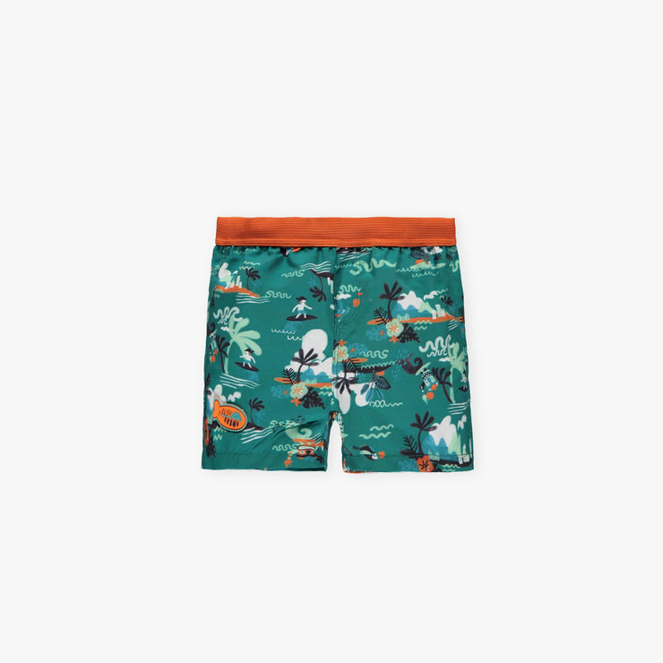 Short de bain tropical || Tropical Swim Shorts