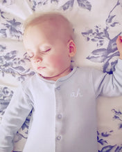 Load image into Gallery viewer, Hand Made Personalised Initial Sleepsuit New Born To 18 Months