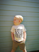 Load image into Gallery viewer, Hand Made Birthday Count T-shirt
