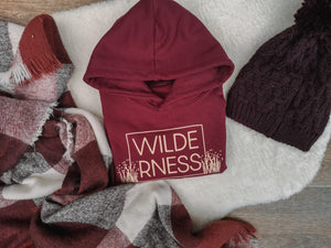 Hand Made Children's hoody 1 to 13 Yrs Wilderness