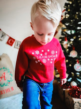 Load image into Gallery viewer, Christmas Children's Jumper /  Sweatshirt 1 to 13 Yrs 3 In Different Design Options
