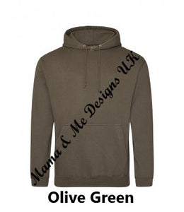 Hand Made Kindness Is Free Adult Ladys Hoody UK Sizes 8-22