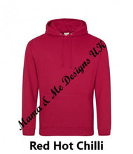 Load image into Gallery viewer, Hand Made Motherhood Perfection Is Not Required Hoody UK Sizes 8-22